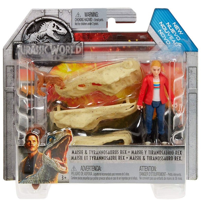 Jurassic World wheately Dino Trophy Hunter articulées Action Figure