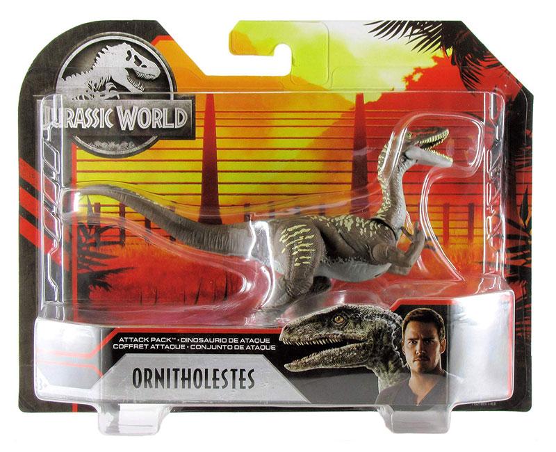 Jurassic World 2 Fallen Kingdom Attack Pack Minmi /& Protoceratops lot of 2