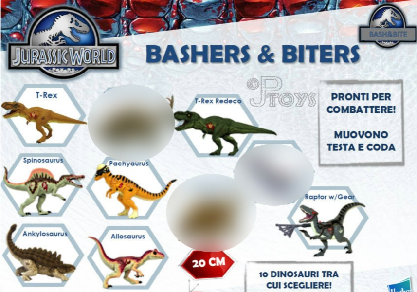 JURASSIC WORLD FIRST HASBRO FIGURES REVEALED