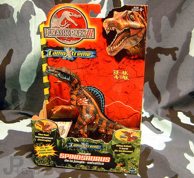 The Day The Nerd Stood Still: Jurassic Park III CamoXtreme ...