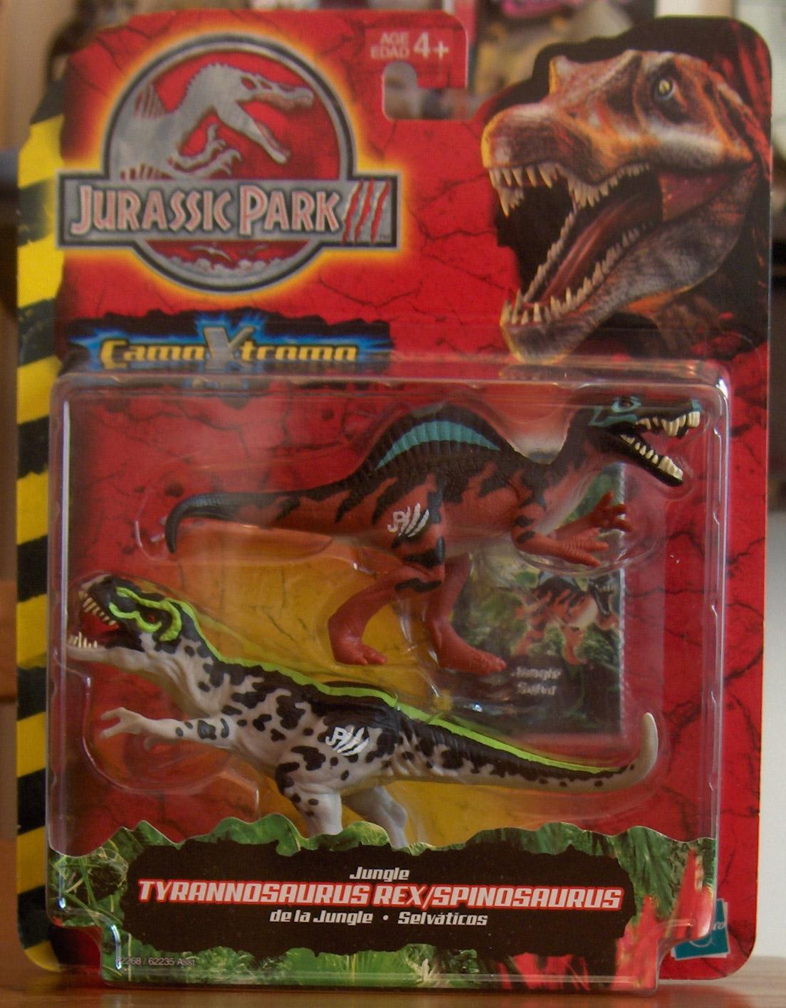 Jungle Spinosaurus TyrannosaurusJurassic Park Toys Spinosaurus Vs Trex