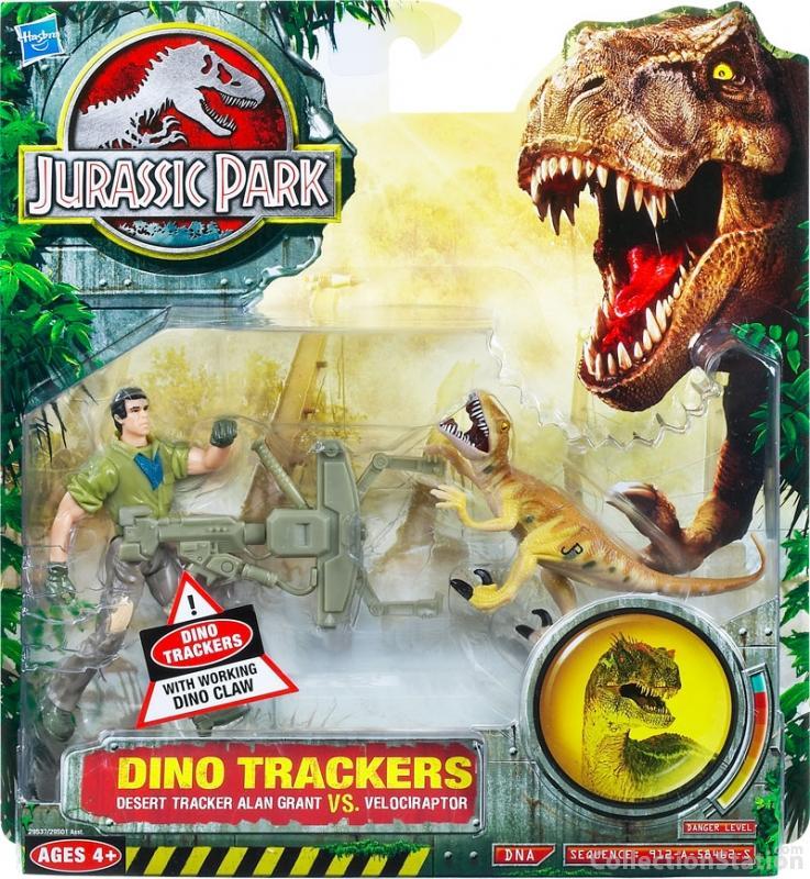 a3292c184782 Jurassic Park 2009  Dino Trackers  Desert Tracker Alan Grant VS Velociraptor