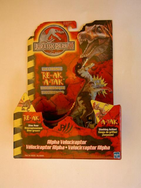 Jurassic Park 3 Velociraptor Toy of this toy line
