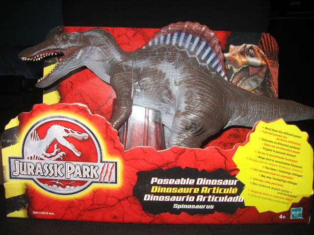 Juguetes de dinosaurios de Jurassic Park