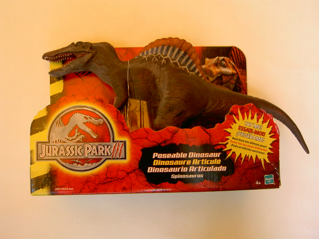 The Day The Nerd Stood Still: Jurassic Park III: Poseable ...