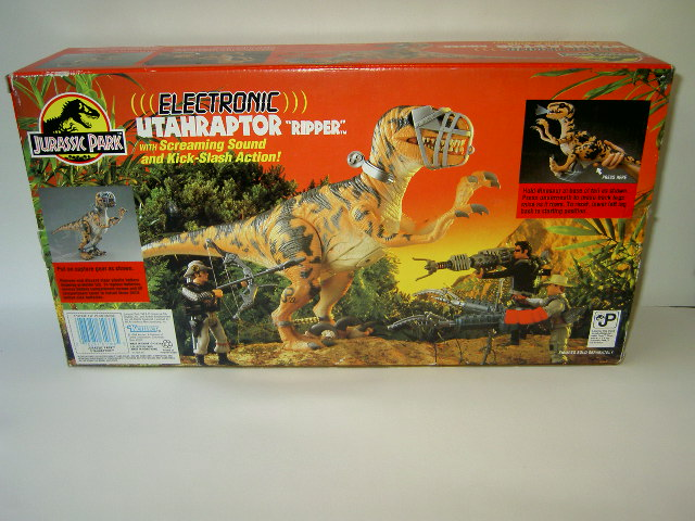 Jurassic Park Dinosaur Toys : Raptors sizes mess wtf the old dinosaur toy forum