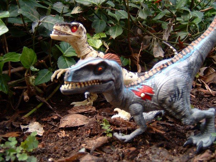 Not jurassic park raptor toys