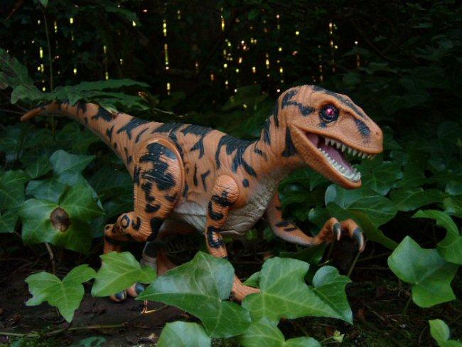 You jurassic park raptor toys business!