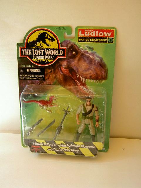 The Lost World Jurassic Park Peter Ludlow/'s Velociraptor raptor hatchling